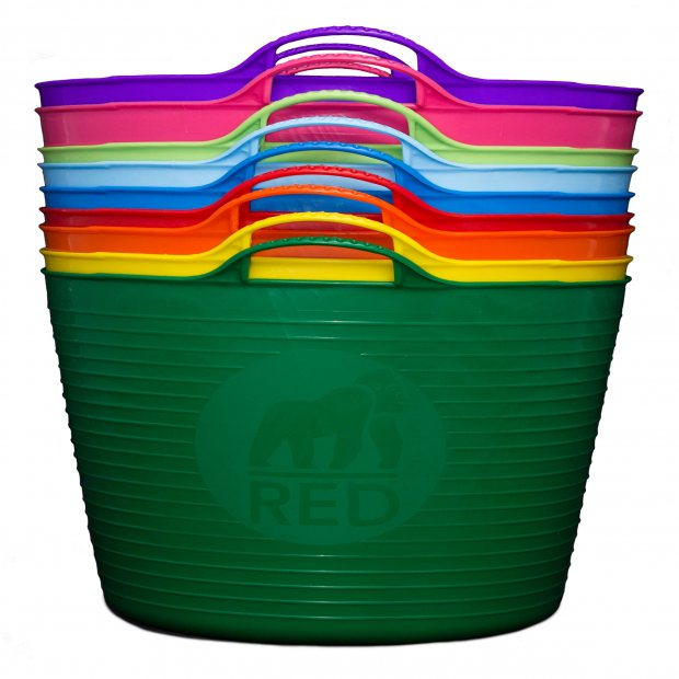 How to Recycle Coloured Tubs