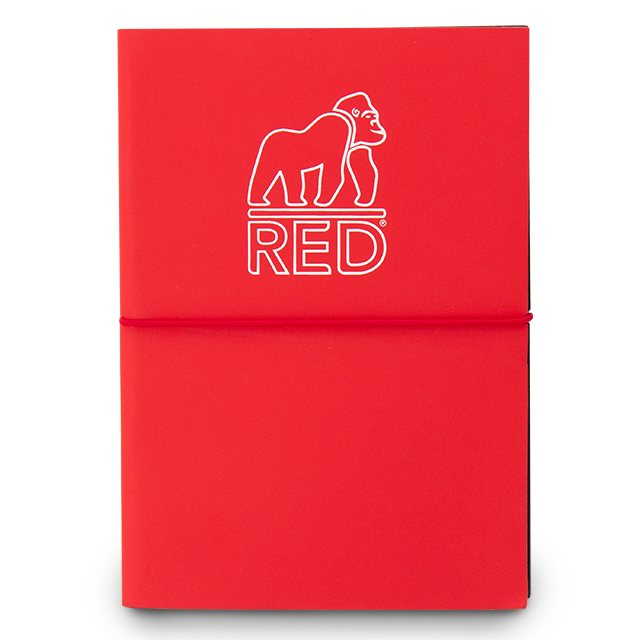 Red Gorilla Notebook