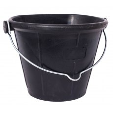 Tyre Rubber Flat-Back Bucket
