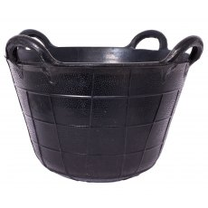 Tyre Rubber Four Handled Basket